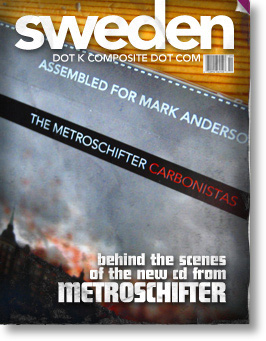 Personalized Metroschifter CDs: behind the scenes