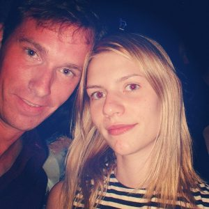For @iida_h #flashbackfriday #grattispåfredag Me and Claire Danes in NYC, July 2001