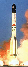 Russian Rocket with Pizza Hut Logo