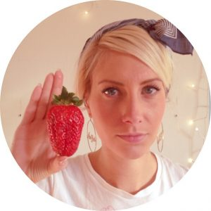 Strawberries as big as your head.