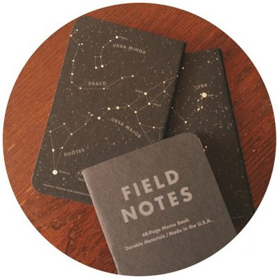 Field Notes Constellations Night Sky