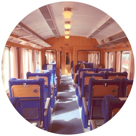 "Sweden's Antique ""Blue Train"""
