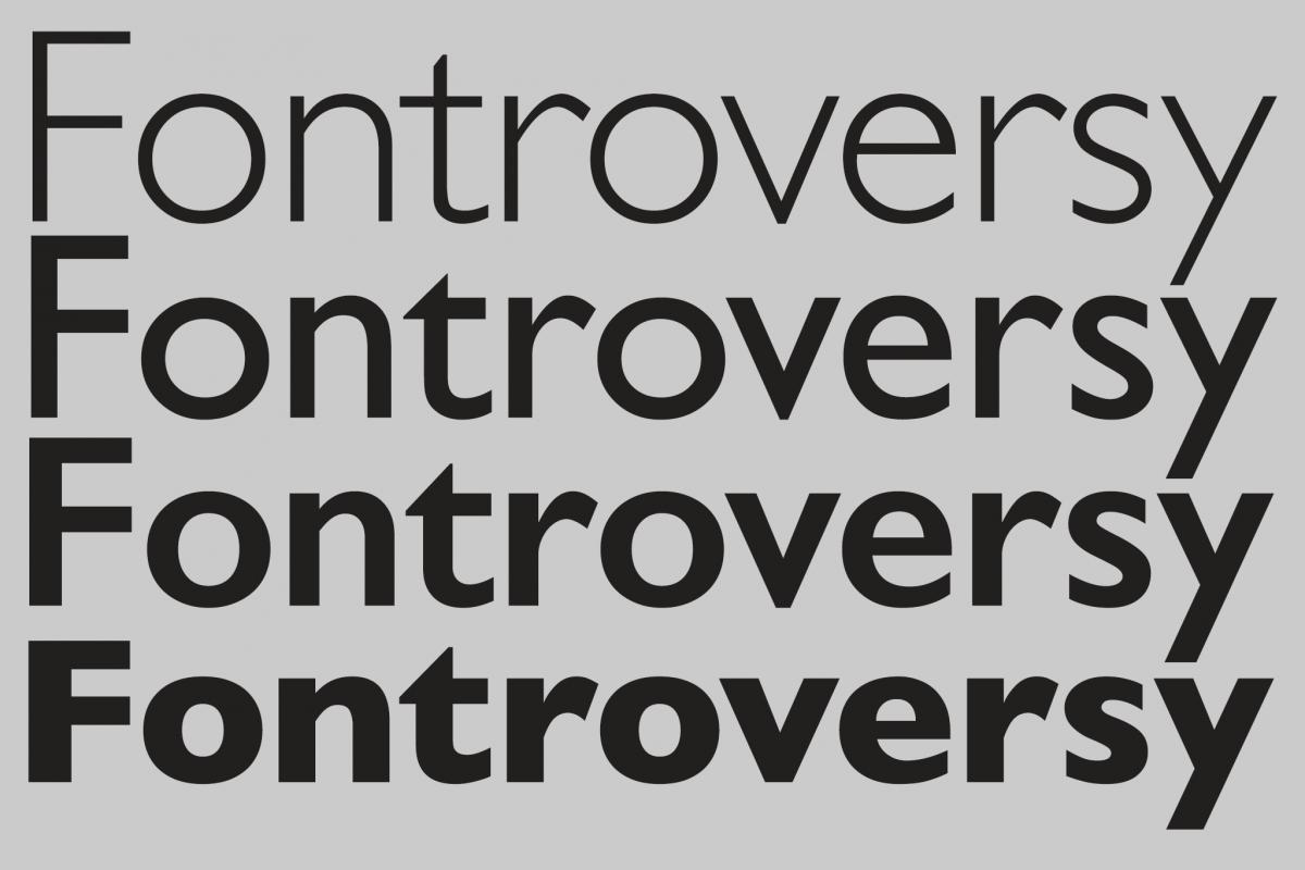 Eric Gill Sans controversy