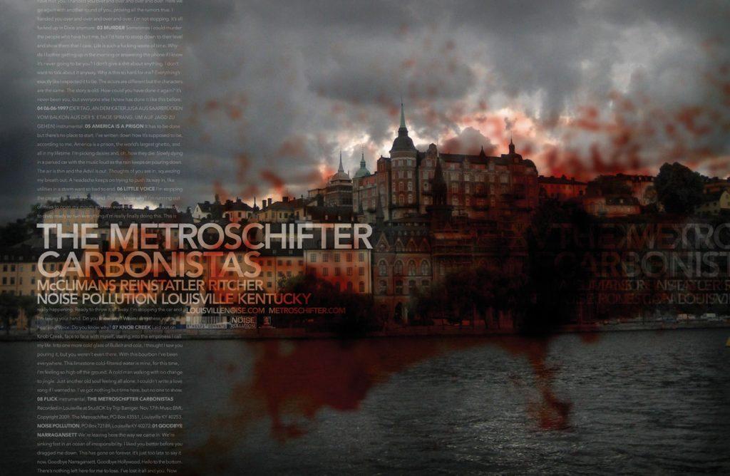 Metroschifter Carbonistas poster