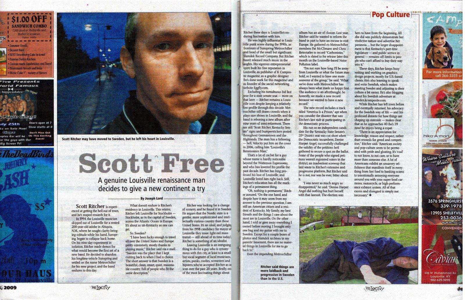 Scott Ritcher Velocity Weekly