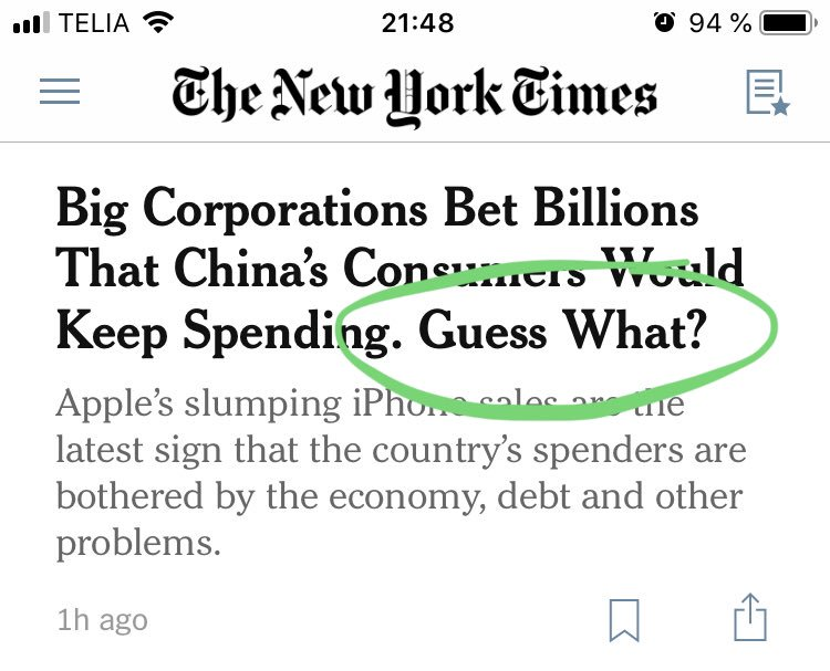 Guess what New York Times