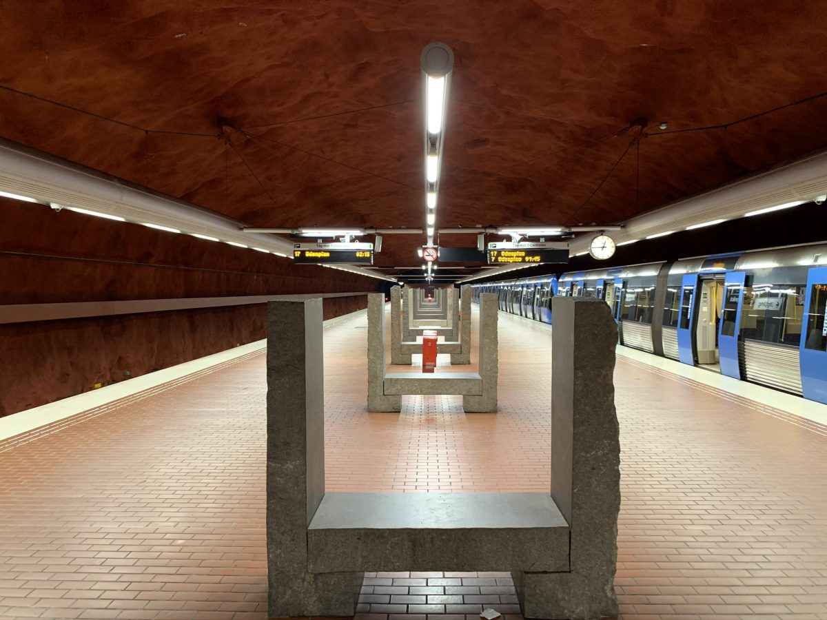 Skarpnäck Tunnelbana