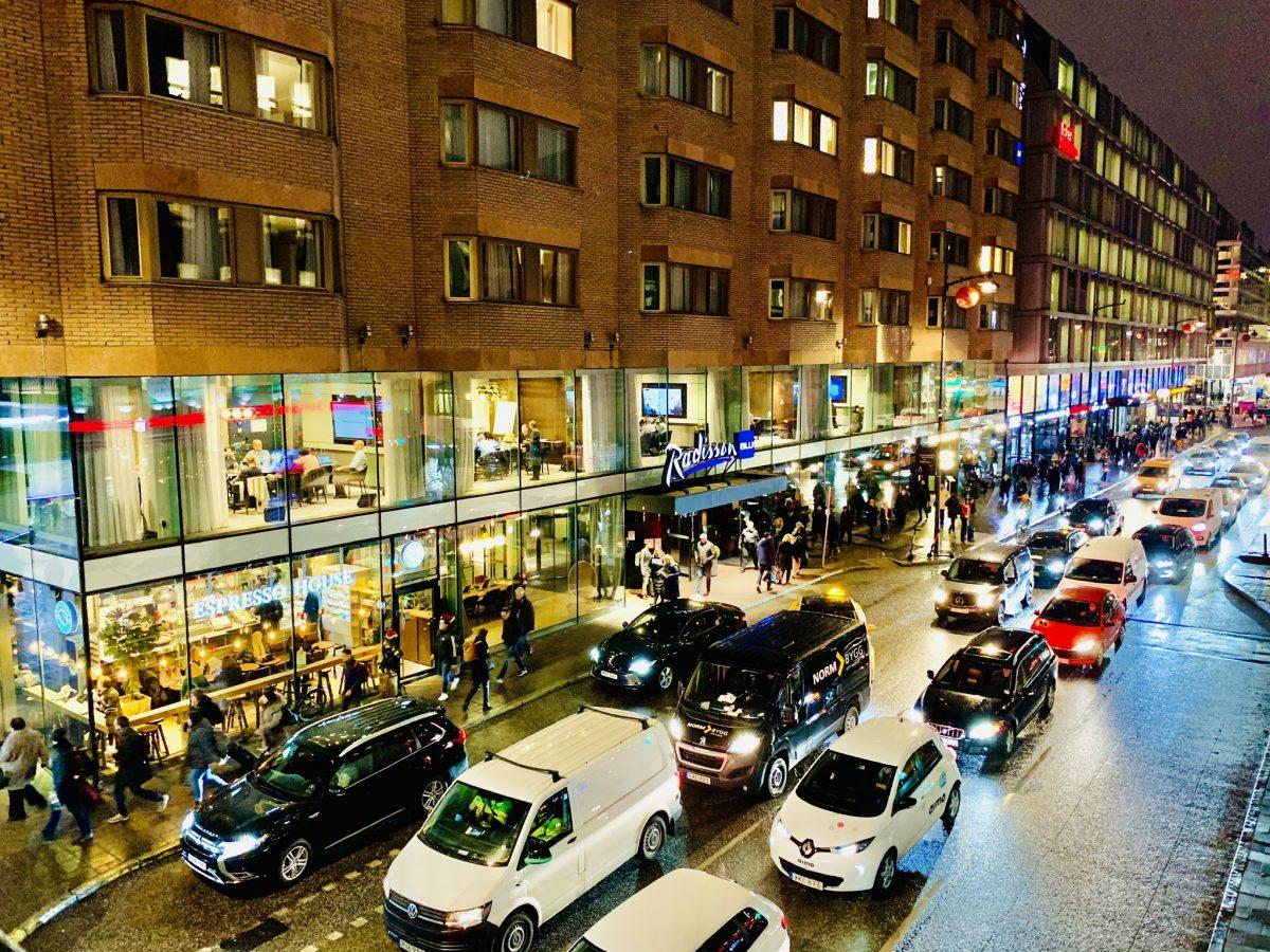 Late meeting on Vasagatan